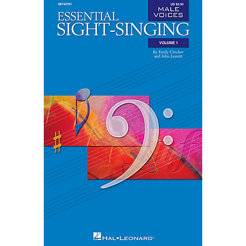 Hal Leonard Essential Sight-Singing Vol. 1 Male Voices (Male Voices Volume One Book) TB-thumbnail