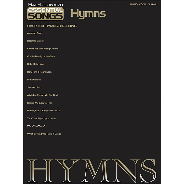 Hal LeonardEssential Songs - Hymns arranged for piano, vocal, and guitar (P/V/G)