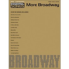Hal Leonard Essential Songs - More Broadway arranged for piano, vocal, and guitar (P/V/G)