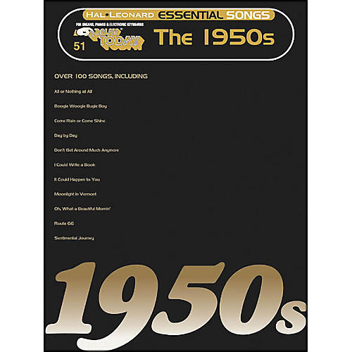 Hal Leonard Essential Songs - The 1950's E-Z Play 51
