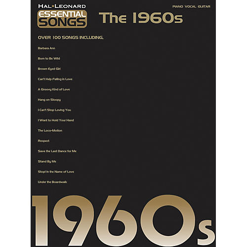 Hal Leonard Essential Songs - The 1960's Piano/Vocal/Guitar Songbook-thumbnail