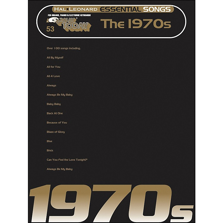 Hal LeonardEssential Songs - The 1970's E-Z Play 53