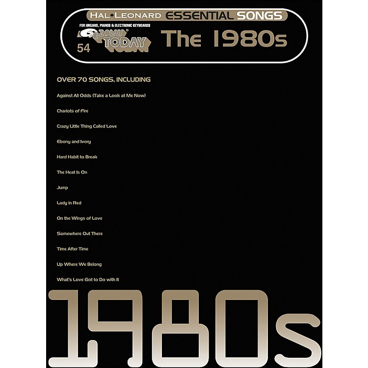 Hal Leonard Essential Songs - The 1980's E-Z Play 54