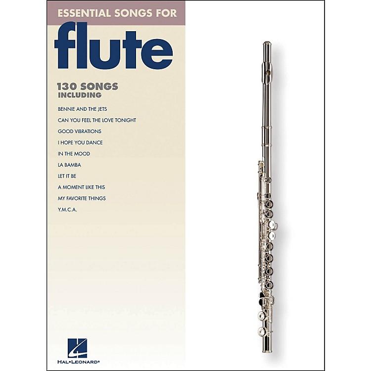 Hal LeonardEssential Songs For Flute