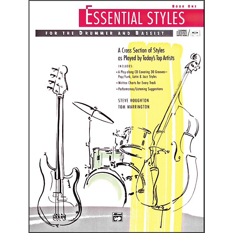 Alfred Essential Styles for the Drummer and Bassist Book 1 Book & CD