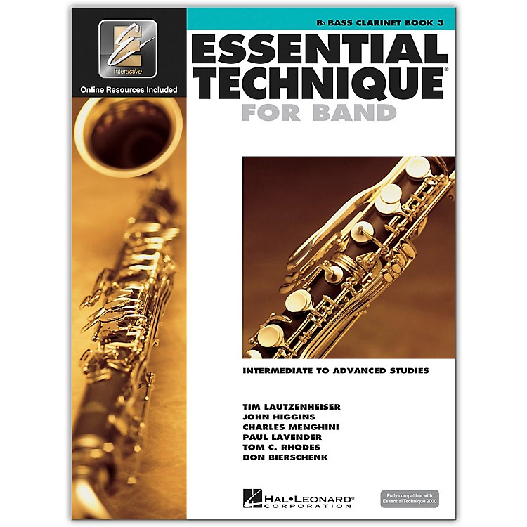 Hal Leonard Essential Technique 2000 Bb Bass Clarinet (Book 3 with CD)