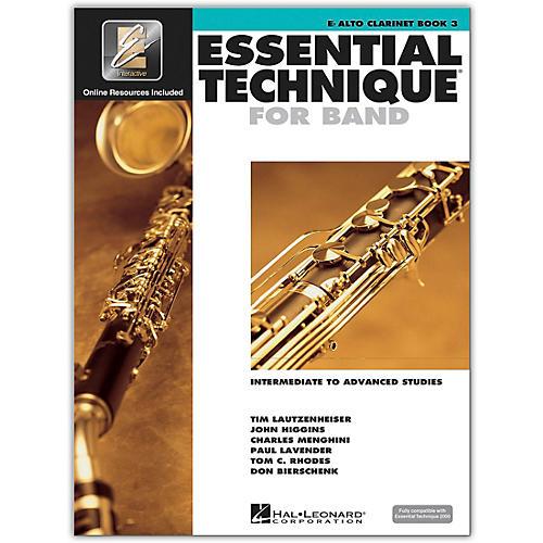 Hal Leonard Essential Technique 2000 E-Flat Alto Clarinet (Book/CD)