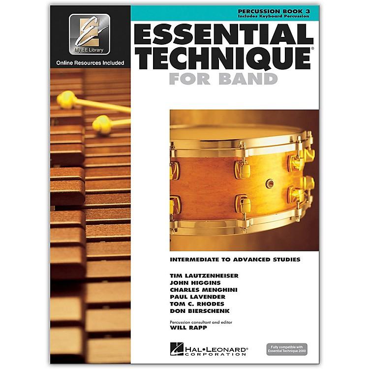 Hal LeonardEssential Technique 2000 Percussion (Book 3 with CD)