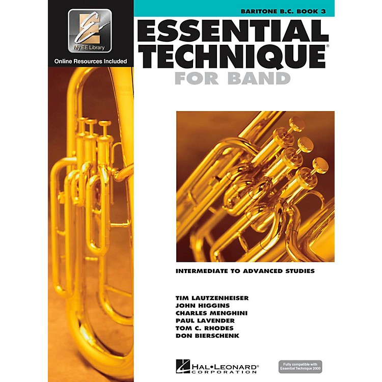 Hal Leonard Essential Technique 2000 for Baritone Bass Clef (Book 3 with CD)