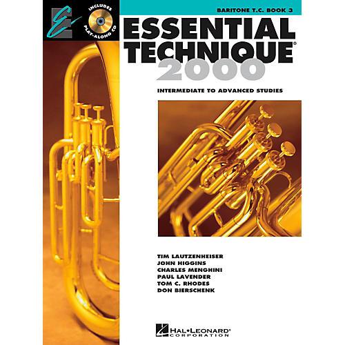 Hal Leonard Essential Technique 2000 for Baritone Treble Clef (Book 3 with CD)
