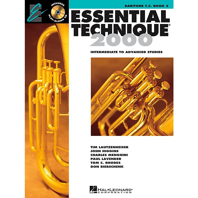 Hal Leonard Essential Technique 2000 for Baritone Treble Clef (Book 3 with CD)