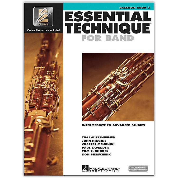 Hal Leonard Essential Technique 2000 for Bassoon (Book 3 with CD)