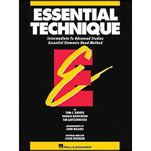 Hal Leonard Essential Technique B Flat Trumpet Intermediate To Advanced Studies-thumbnail