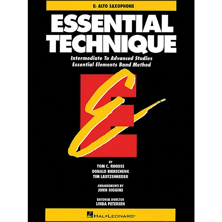 Hal Leonard Essential Technique E Flat Alto Saxophone Intermediate To Advanced Studies