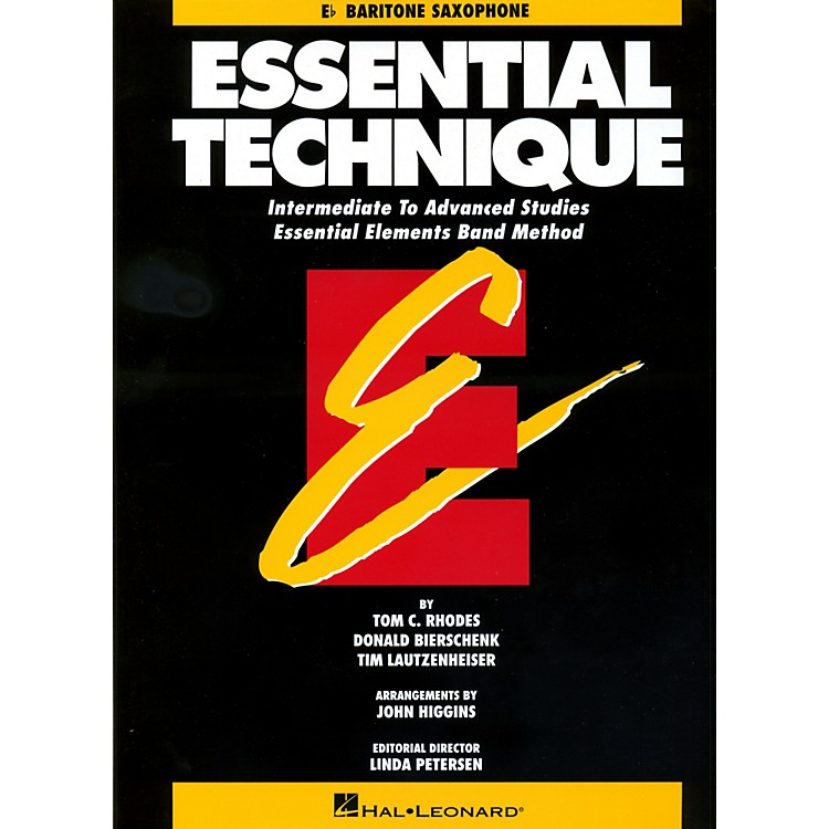 Hal LeonardEssential Technique For E Flat Baritone Saxophone - Intermediate To Advanced Studies