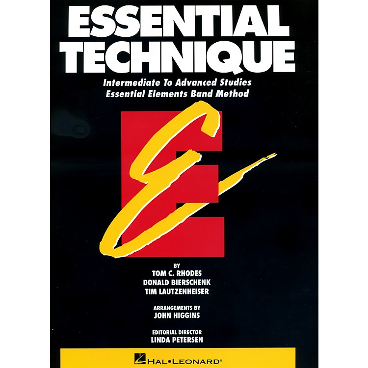Hal LeonardEssential Technique For Tuba Intermediate To Advanced Studies