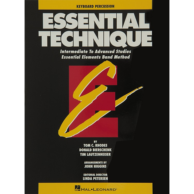 Hal Leonard Essential Technique Keyboard Percussion Intermediate To Advanced Studies