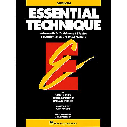 Hal Leonard Essential Technique (Original Series) (Conductor) Concert Band-thumbnail