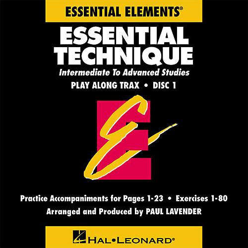 Hal Leonard Essential Technique (Original Series) (Play Along Trax (2-CD set)) Concert Band-thumbnail