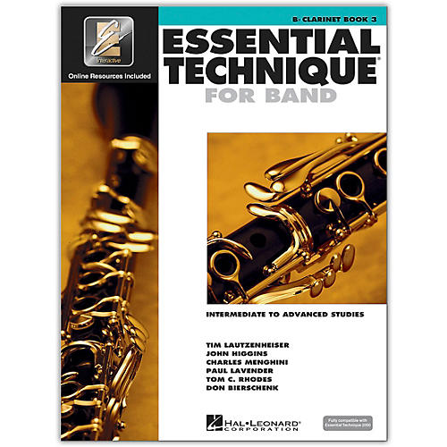 Hal Leonard Essential Technique for Band - Bb Clarinet (Book 3 with EEi)-thumbnail