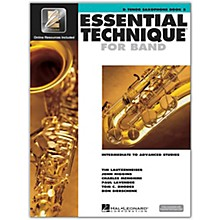 Hal Leonard Essential Technique for Band - Bb Tenor Saxophone (Book 3 with EEi)