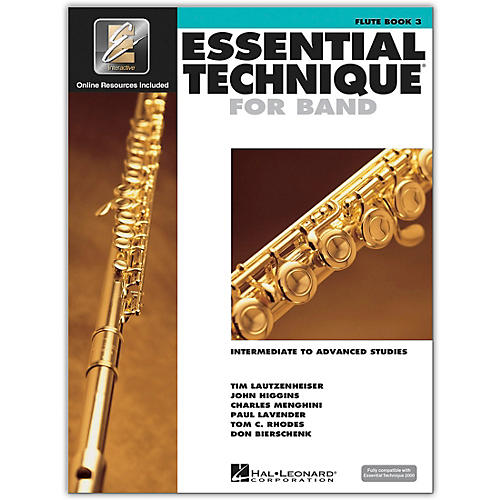 Hal Leonard Essential Technique for Band - Flute (Book 3 with EEi)