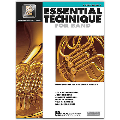 Hal Leonard Essential Technique for Band - French Horn (Book 3 with EEi)