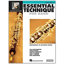 Hal Leonard Essential Technique for Band - Oboe 3 Book/Online Audio