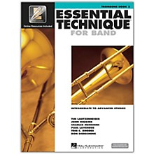 Hal Leonard Essential Technique for Band - Trombone 3 Book/Online Audio