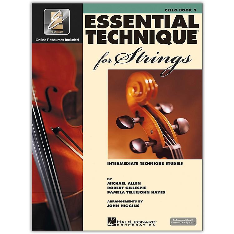 Hal LeonardEssential Technique for Strings Cello Book 3