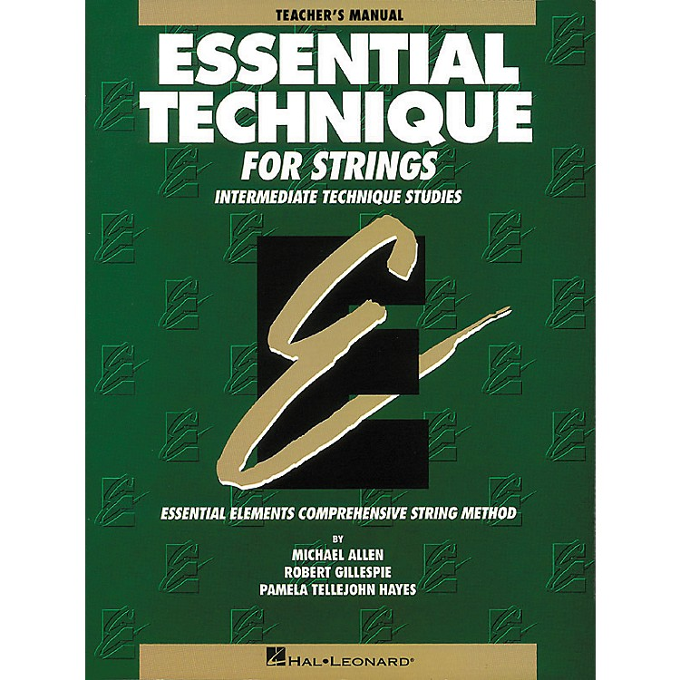 Hal Leonard Essential Technique for Strings Teacher's Manual