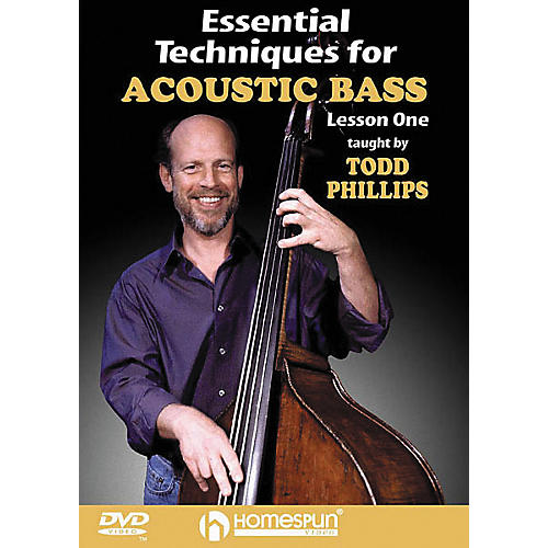 Homespun Essential Techniques for Acoustic Bass 2 (DVD)