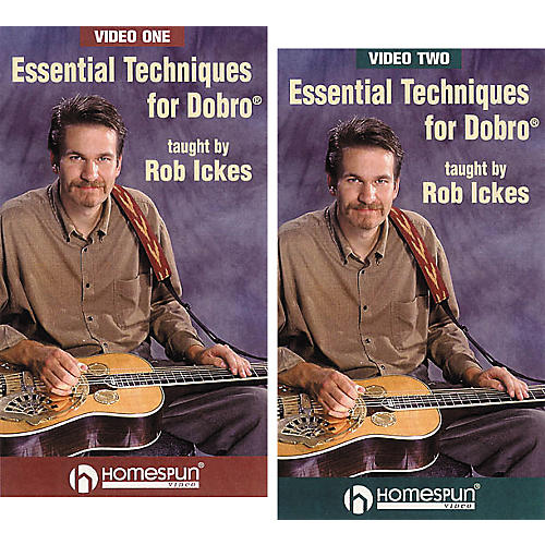 Homespun Essential Techniques for Dobro 2-Video Set (VHS)