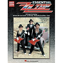 Hal Leonard Essential ZZ Top Easy Guitar Tab Songbook