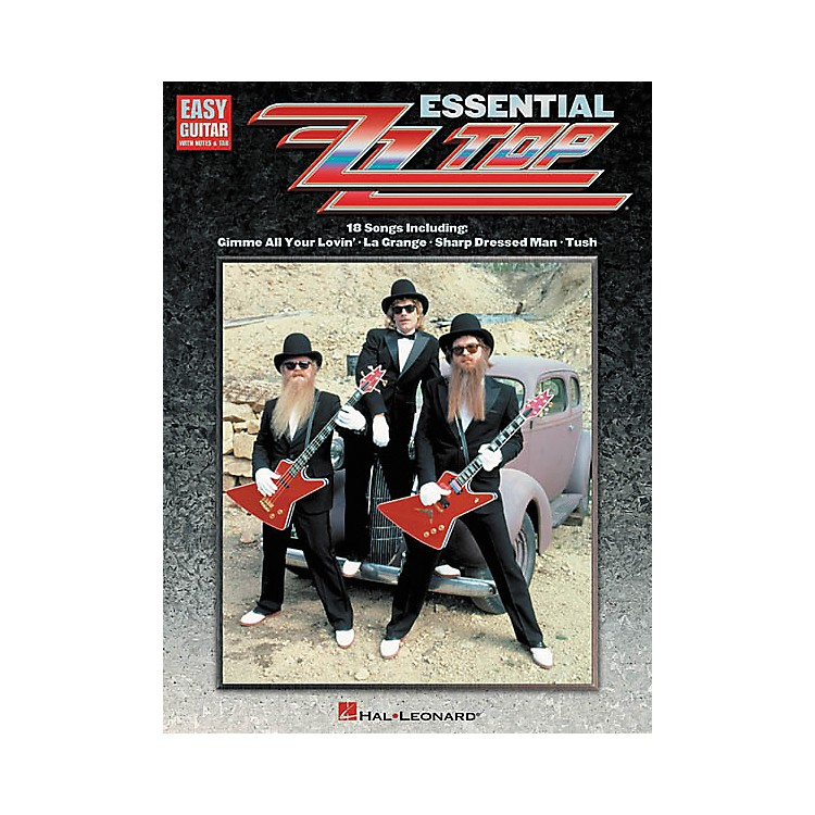 Hal Leonard Essential ZZ Top Easy Guitar Tab Songbook