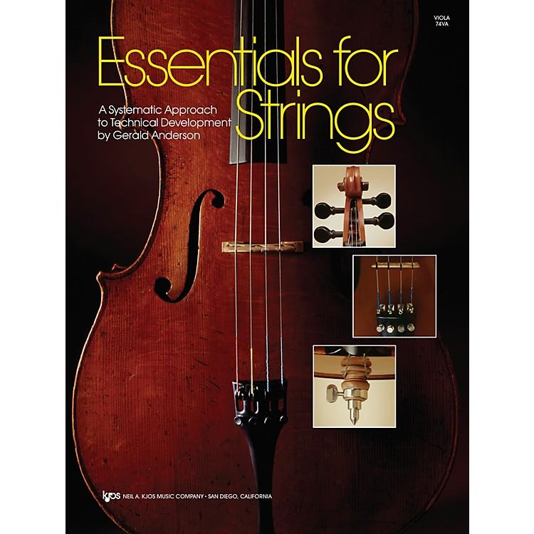 KJOSEssentials For Strings Viola
