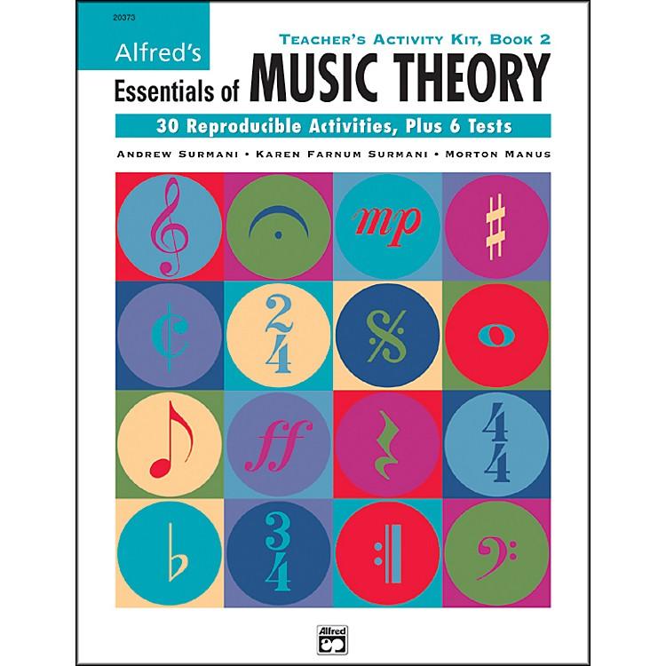 AlfredEssentials Of Music Teacher Activity Book 2