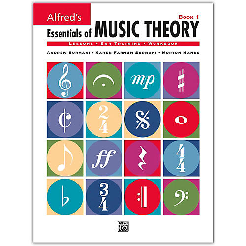 Alfred Essentials Of Music Theory Series Book 1-thumbnail