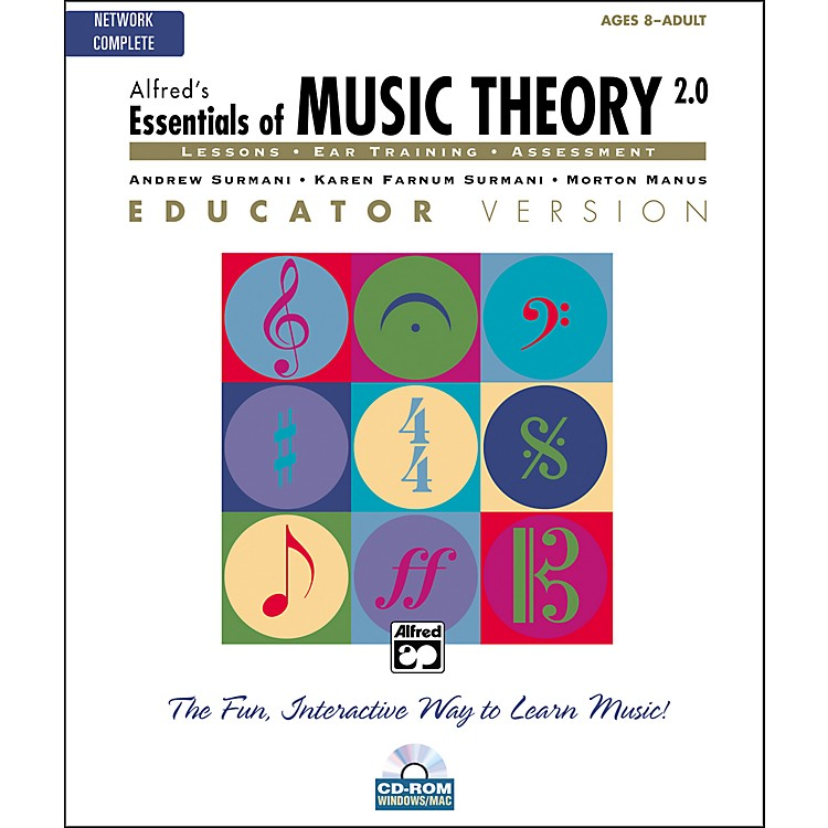 Alfred Essentials of Music Theory 2.0 Educator Version Complete (CD-ROM)