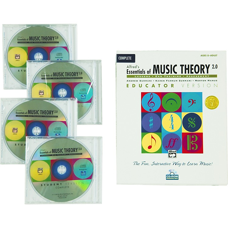 Alfred Essentials of Music Theory Software/CD-Rom