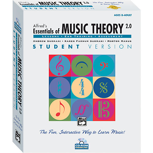 Alfred Essentials of Music Theory: Software Version 2.0 CD-ROM Student Version Volume 1