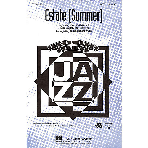 Hal Leonard Estate (Summer) SATB arranged by Paris Rutherford