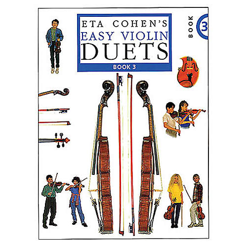 Novello Eta Cohen's Easy Violin Duets - Book 3 (Cohen Violin Method) Music Sales America Series-thumbnail