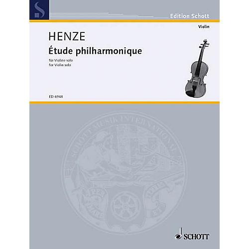 Schott Etude Philharmonique Schott Series