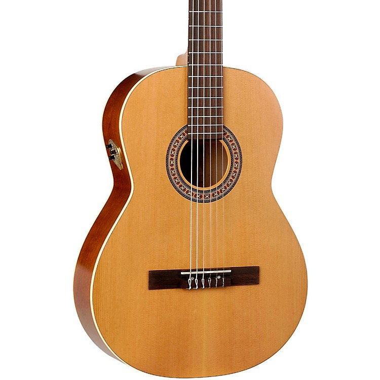La Patrie Etude QI Acoustic-Electric Classical Guitar Natural