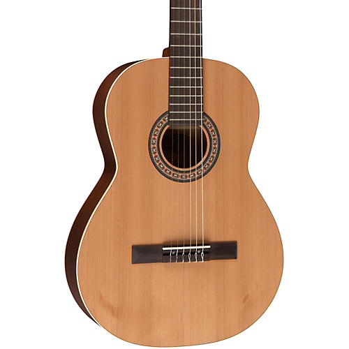 La Patrie Etude QI Left-Handed Acoustic-Electric Classical Guitar Natural