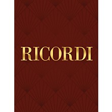 Ricordi Etudes, Op. 10 and 25 Complete Piano Large Works Composed by Frederic Chopin Edited by Pietro Montani