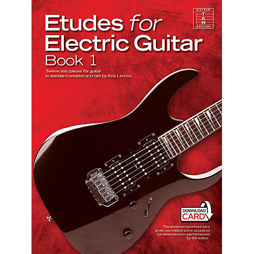 Music Sales Etudes for Electric Guitar - Book 1 Music Sales America Series Softcover Audio Online-thumbnail