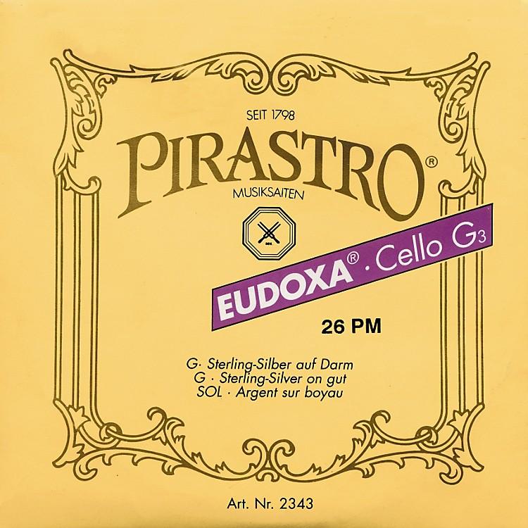 PirastroEudoxa Series Cello G String4/4 - 26 Gauge