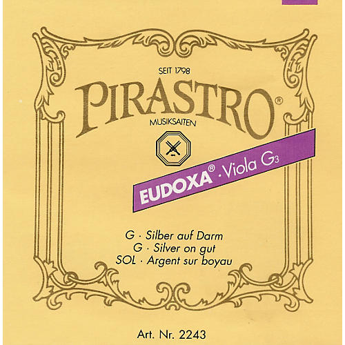 Pirastro Eudoxa Series Viola A String 4/4 - 14 Gauge